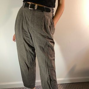 Lee Riveted Striped Pants